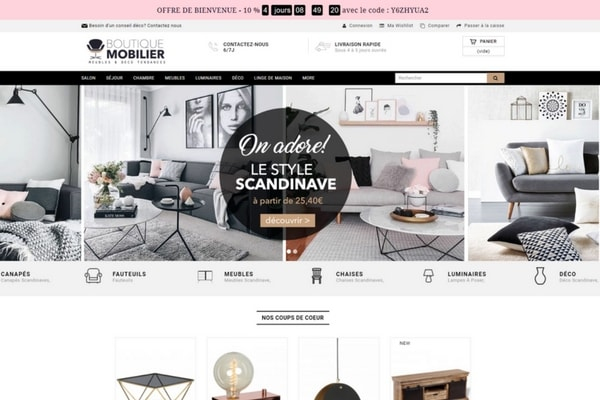 magasin meuble scandinave dans l 39 annuaire du ecommerce. Black Bedroom Furniture Sets. Home Design Ideas