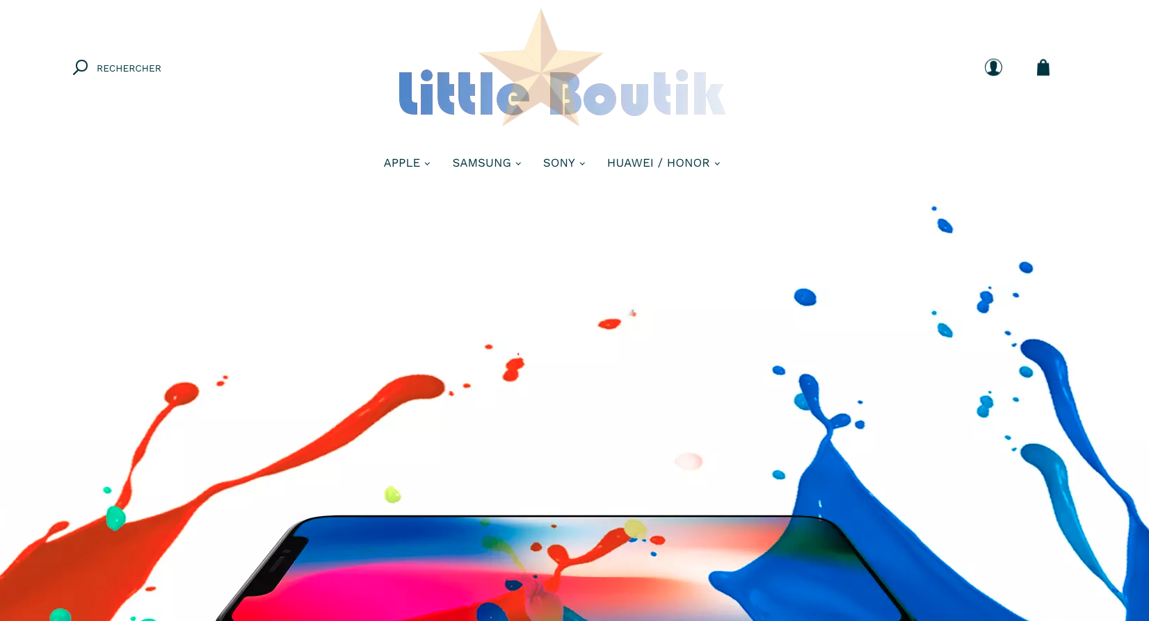 Little Boutik : protection pour smartphone