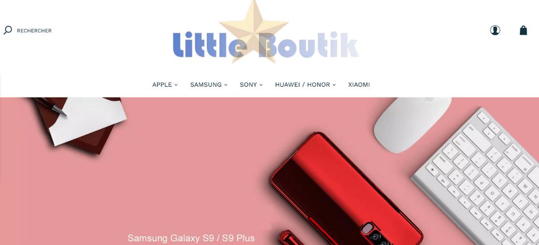Little Boutik : coque et protection pour smartphone