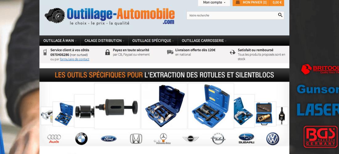 Outillage Automobile : large gamme d'outils professionnels