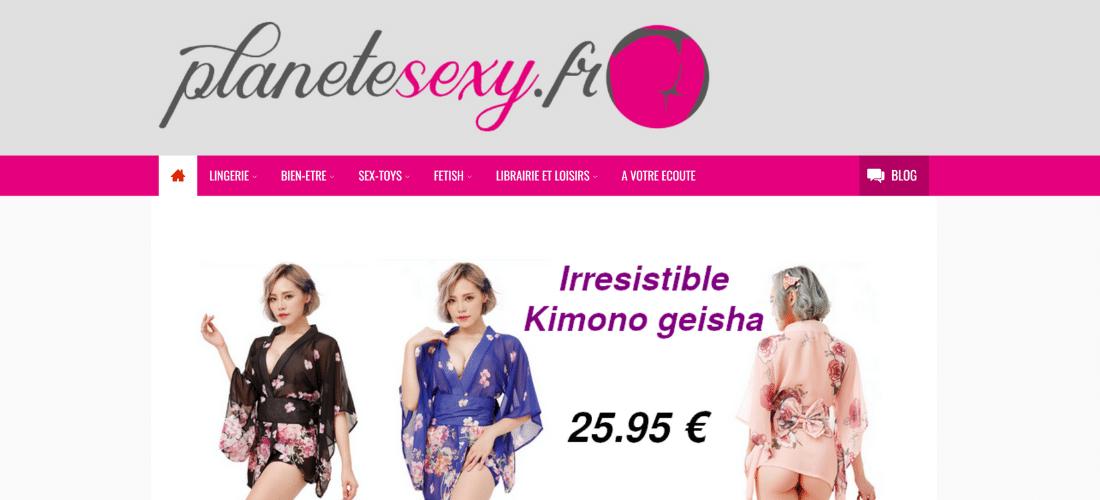 Planete Sexy : votre boutique en ligne spéciale érotisme