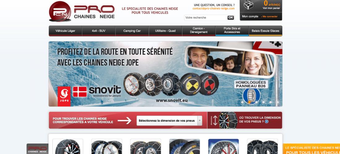 Pro Chaines Neige : spécialiste en chaine neige