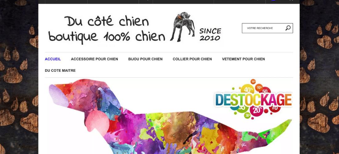 Du Côté Chien : votre eshop pour chien