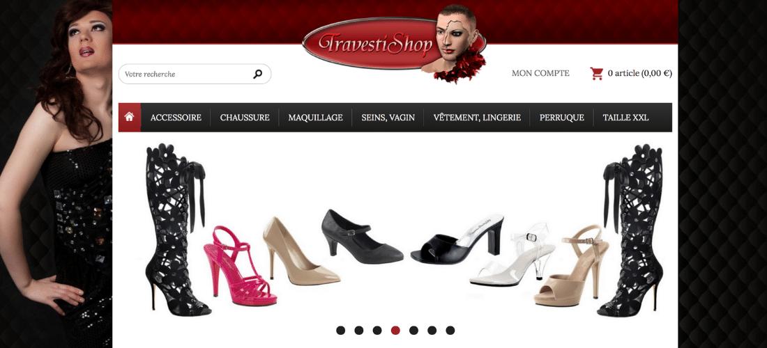 Travestishop : spécialiste mode et accessoires pour travesti
