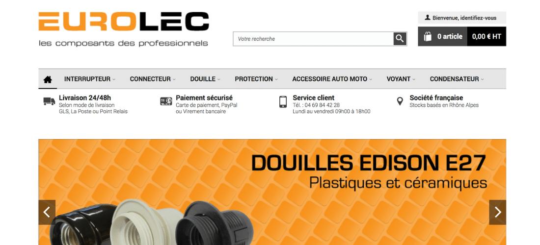Eurolec : interrupteurs, connecteurs et douilles